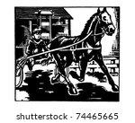 Sulky Racing   Retro Ad Art...