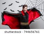 Vampire Halloween Concept  ...