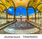 istanbul   october 11  2016 ...   Shutterstock . vector #744696001