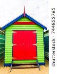 holiday in australia   ...   Shutterstock . vector #744823765
