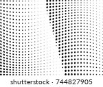 abstract halftone dotted... | Shutterstock .eps vector #744827905