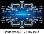 hud futuristic elements...