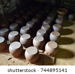 he village potters.the subject