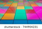 Colorful Square Shape Lighting...