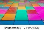 Colorful Square Shape Lighting...
