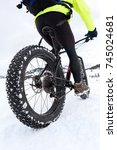 Mountain Bike With Fat Tires O...