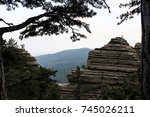 nature landscape nature trees... | Shutterstock . vector #745026211