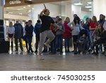 russia  ivanovo  october 29 ... | Shutterstock . vector #745030255