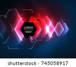 digital techno abstract...