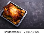 Roasted Chicken And Potatoes O...
