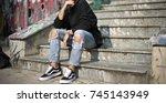 milan  italy   september 28 ...   Shutterstock . vector #745143949