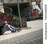 milan  italy   september 28 ...   Shutterstock . vector #745144039