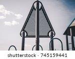 abstract image of children's... | Shutterstock . vector #745159441