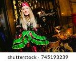 odessa  ukraine october 31 ... | Shutterstock . vector #745193239