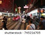 bangkok  thailand   october 13  ... | Shutterstock . vector #745216705