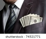 Formalweare Businessman With...