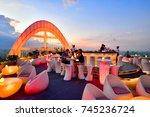 bangkok   thailand october 22 ... | Shutterstock . vector #745236724