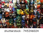 """a selection of colorful """"lucha...   Shutterstock . vector #745246024"""