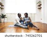pregnant woman life | Shutterstock . vector #745262701