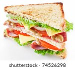 Sandwich With Bacon And...