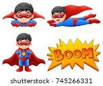 vector illustration of set of...   Shutterstock .eps vector #745266331