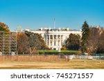 The White House Illuminated By...