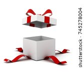 Open Gift Box   Present Box...