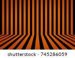 pattern line background... | Shutterstock . vector #745286059