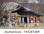 gyeongju  south korea   17 jan... | Shutterstock . vector #745287289