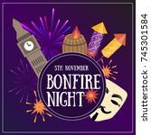 Bonfire Night Flayer Contains...