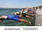 istanbul  turkey   july 30 ... | Shutterstock . vector #745320091