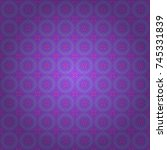 seamless pattern with fantasy... | Shutterstock .eps vector #745331839