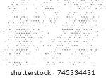 light silver  gray vector red... | Shutterstock .eps vector #745334431