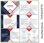 geometric presentation template ...