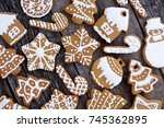 Homemade Christmas Cookies On...
