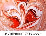 marble abstract background.... | Shutterstock . vector #745367089