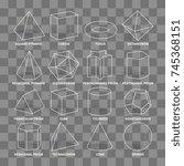 abstract 3d math geometric...   Shutterstock .eps vector #745368151