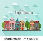 vector illustration of... | Shutterstock .eps vector #745403941