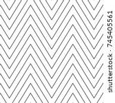 chevrons abstract pattern...   Shutterstock .eps vector #745405561