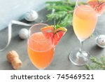 Mimosa Festive Drink For...