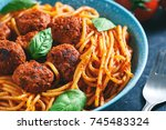 Close Up Of Italian Pasta With...