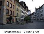 aarau  sep 17  2017   the old... | Shutterstock . vector #745541725