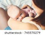 Baby Eating Mother's Milk....