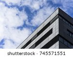 modern building | Shutterstock . vector #745571551
