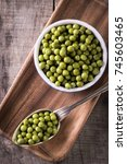 Canned Green Peas L On Old...