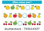 what comes next educational... | Shutterstock .eps vector #745614337