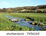 late autumn english landscape... | Shutterstock . vector #7456165