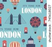 London Landmarks Seamless...