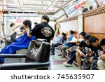 chiang rai thailand   10  30 ... | Shutterstock . vector #745635907