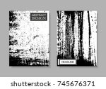 abstract brochure design.flyer...   Shutterstock .eps vector #745676371